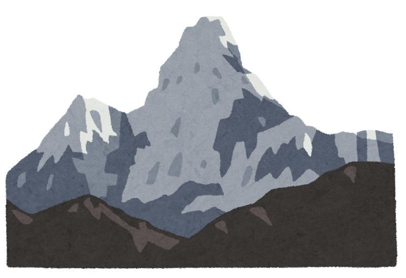 エベレストの高所