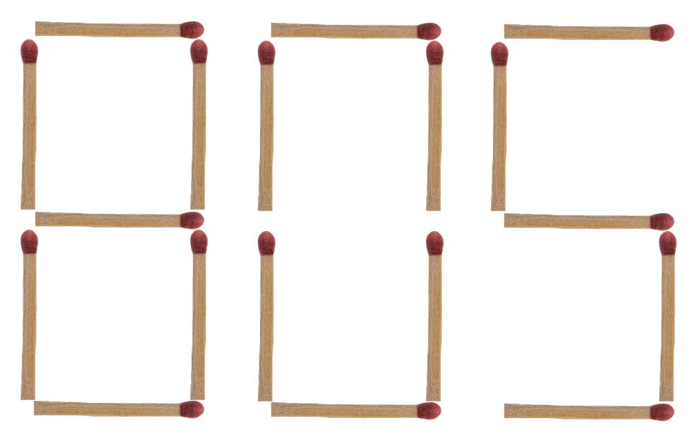 棒 問題 マッチ 難問クイズ27