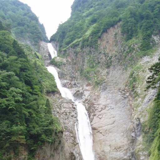 日本最大落差の滝