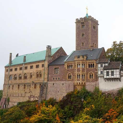 ヴァルトブルク城(ドイツ)