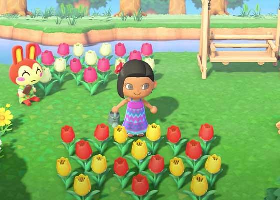 の あつ 森 交配 お花 花の交配のやり方とレア花の交配手順 あつ森
